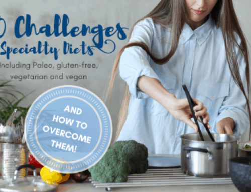 20 Challenges of Specialty Diets and How to Overcome Them: Paleo, Vegetarian, Vegan, and Gluten-free