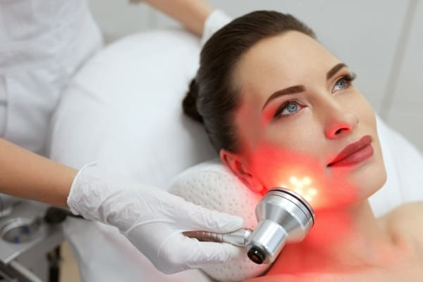 Red light therapy at home is completely different than the harsh UV rays of sunlight.