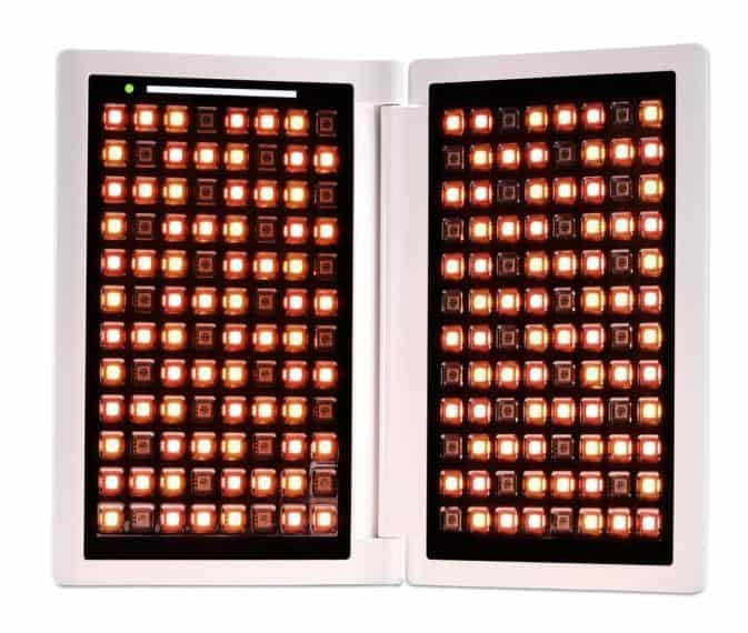 Using a red light therapy machine can help with scars and stretch marks.