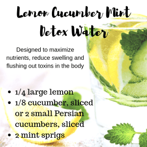 If you are trying to figure out does drinking water help acne, try a detox water.