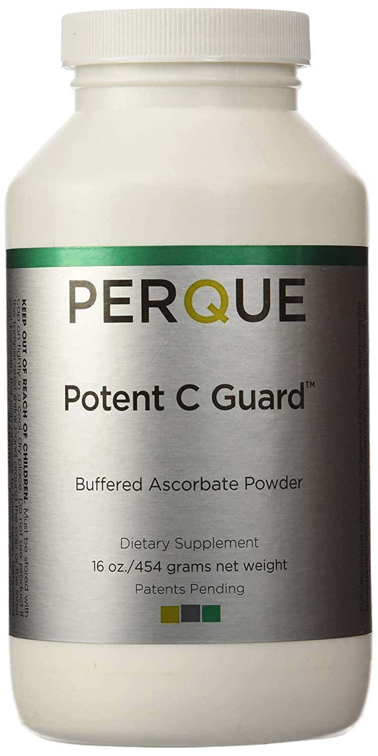 3Perque Potent C Guard Powder is a great supplement for a vitamin C flush.