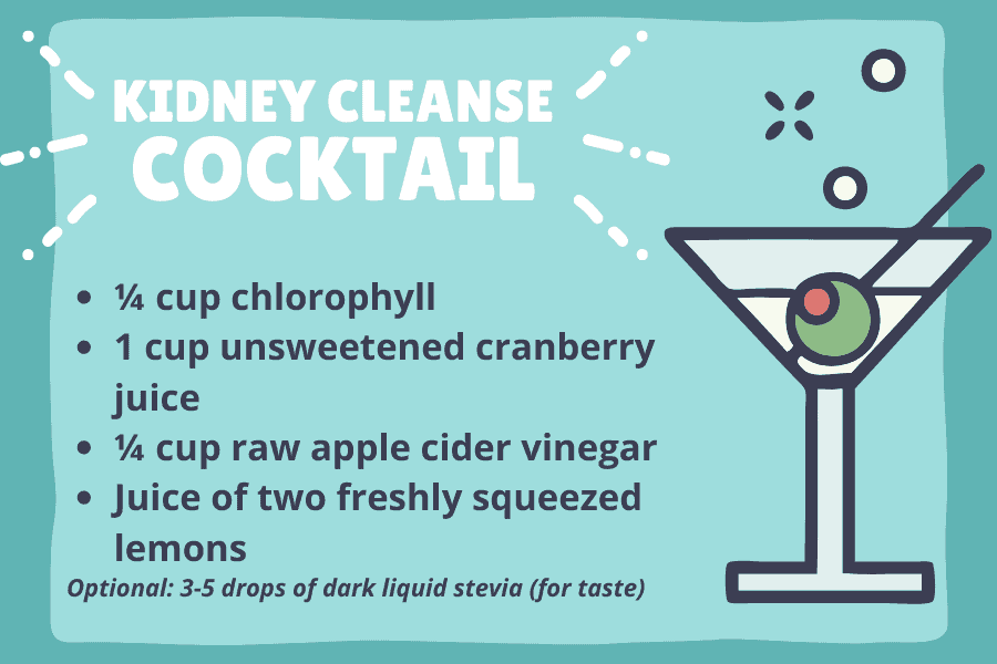 It doesn't get better than a cleanse cocktail!