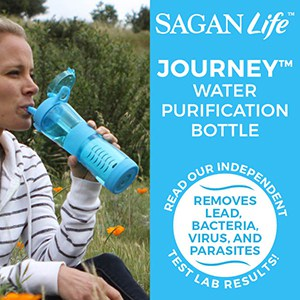 Sagan Life bottles are a great way to remove heavy metals.