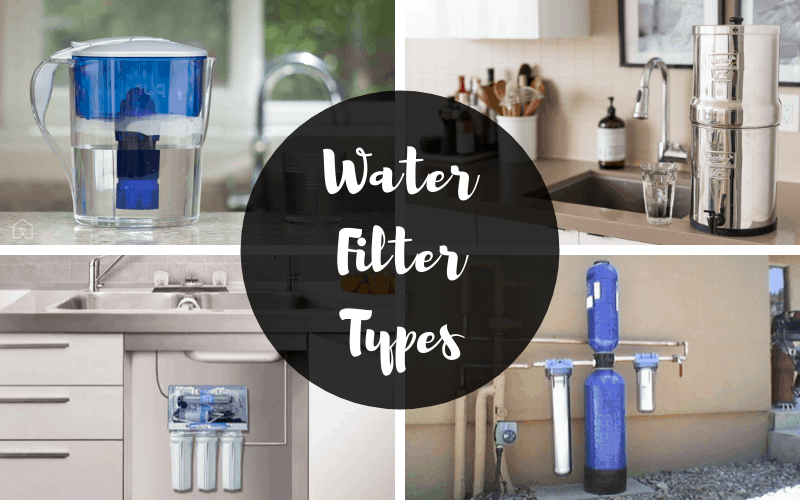 There are several types of heavy metal water filters.