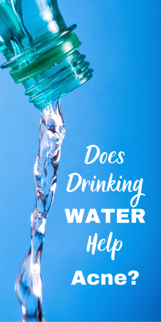 If you are wondering does drinking water help acne the answer is yes.