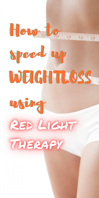 Red light therapy for weight loss.