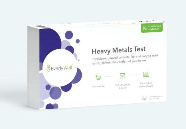 Selenium test kit for thyroid at home by EverlyWell.