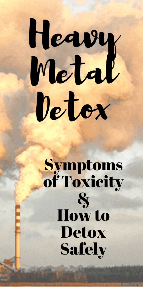 Learn all about heavy metal detox!